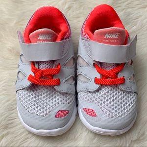 NIKE Baby Free 5.0 Running Sneakers, sz 6C